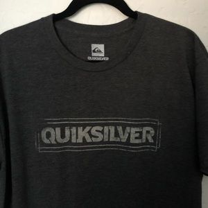 Quiksilver Dark Gray T-Shirt XL